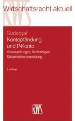 Kontopfändung und P-Konto - Sudergat, Lutz G.