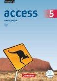 English G Access Band 5: 9. Schuljahr - Allgemeine Ausgabe - Workbook mit Audios online