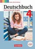 Deutschbuch Band 4: 8. Schuljahr - Differenzierende Ausgabe Baden-Württemberg - Schülerbuch
