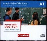 4 Schüler-Audio-CDs und Arbeitsbuch-Audio-CDs im WAV-Format / Pluspunkt Deutsch - Leben in Deutschland, Ausgabe für berufliche Schulen Bd.A1
