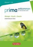 Prima ankommen Biologie, Physik, Chemie: Klasse 7-10 - Arbeitsbuch DaZ mit Lösungen