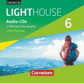 10. Schuljahr, Audio-CDs (+MP3 und Transkripte), Lehrerfassung / English G Lighthouse, Allgemeine Ausgabe .6