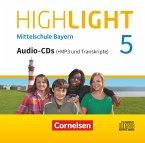 5. Jahrgangsstufe, Audio-CDs (+MP3) / Highlight - Mittelschule Bayern