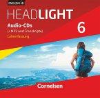 English G Headlight - Allgemeine Ausgabe - Band 6: 10. Schuljahr, Audio-CDs (Vollfassung) - Audio-Dateien auch als MP3 / English G Headlight, Allgemeine Ausgabe 3