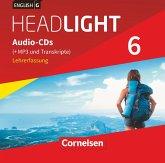10. Schuljahr, Audio-CDs (+MP3 und Transkripte), Lehrerfassung / English G Headlight, Allgemeine Ausgabe .6