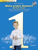 Mein erstes Konzert, Trompete (B) und Klavier, m. Audio-CD