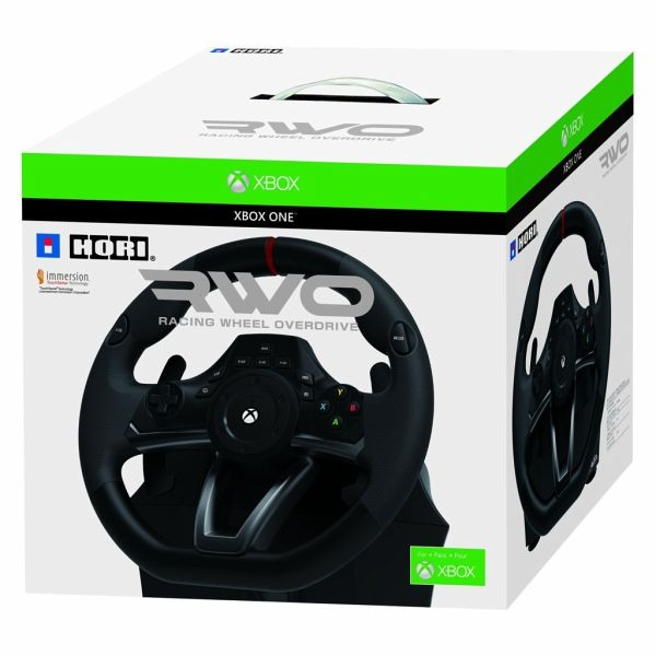 racing wheel lenkrad over drive f r xbox one portofrei. Black Bedroom Furniture Sets. Home Design Ideas