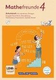 Mathefreunde 4. Schuljahr - Nord - Arbeitsheft mit interaktiven Übungen auf scook.de