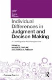 Individual Differences in Judgement and Decision-Making (eBook, PDF)