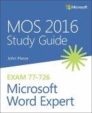 MOS 2016 Study Guide for Microsoft Word Expert (eBook, ePUB)