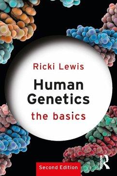 Human Genetics: The Basics (eBook, ePUB) - Lewis, Ricki