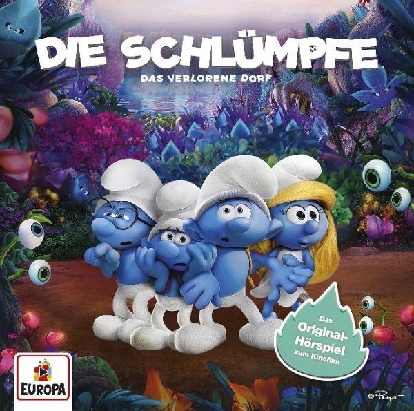 Die Schlümpfe - Das verlorene Dorf, 1 Audio-CD