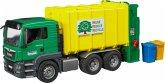 MAN TGS Müll-LKW Hecklader grün/gelb