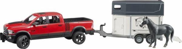 Spielzeugautos Ram 2500 Power Wagon mit Anhänger