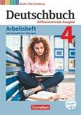 Deutschbuch Band 4: 8. Schuljahr - Differenzierende Ausgabe Baden-Württemberg - Arbeitsheft mit interaktiven Übungen auf scook.de