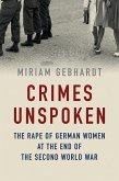 Crimes Unspoken (eBook, ePUB)