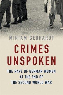 Crimes Unspoken (eBook, ePUB) - Gebhardt, Miriam