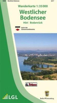 Topographische Wanderkarte Baden-Württemberg We...