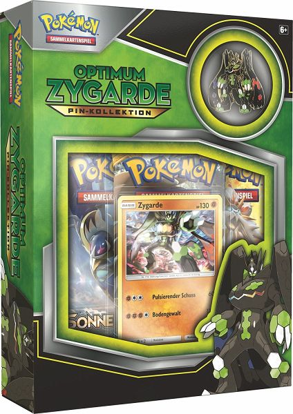 Pokemon Zygarde Pin Box