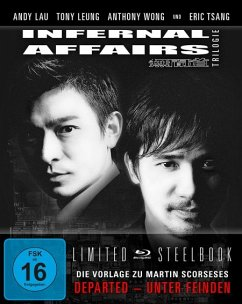 Infernal Affairs Trilogie Limited Steelbook