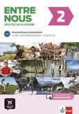 Entre nous A2. Kurs- und Übungsbuch + Audio-CD, deutsche Ausgabe