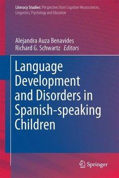 Language Development and Disorders in Spanish-speaking Children