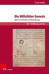 Die Millstätter Genesis - Schäfer, Frank