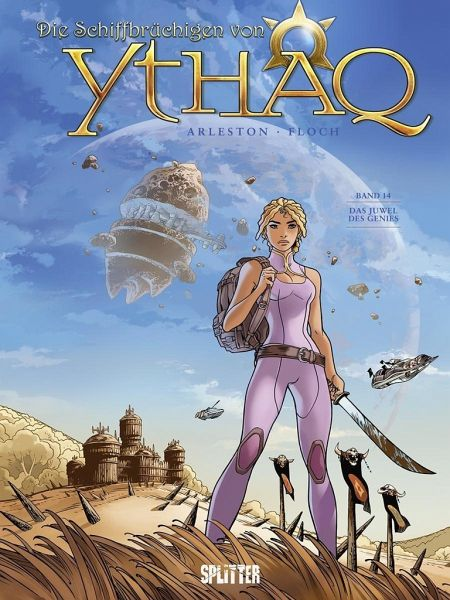 Buch-Reihe Die Schiffbrüchigen von Ythaq