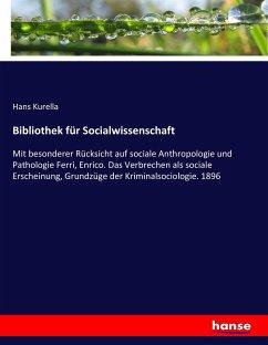 9783743652552 - Kurella, Hans: Bibliothek für Socialwissenschaft - Book