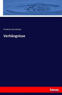 9783743652231 - Gerstäcker, Friedrich: Verhängnisse - Kitap