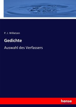 9783743652514 - P. J. Willatzen: Gedichte - Book