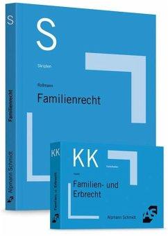 Paket Roßmann, Skript Familienrecht + Haack, Karteikarten Familien- und Erbrecht - Haack, Claudia; Roßmann, Franz-Thomas