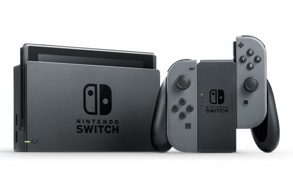 Nintendo Switch Grau