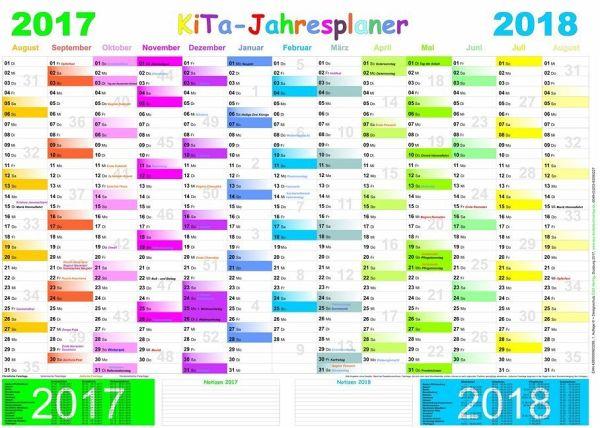 Kita jahresplaner 2017 2018 for Planer com