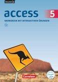 English G Access Band 5: 9. Schuljahr - Allgemeine Ausgabe - Workbook mit interaktiven Übungen auf scook.de
