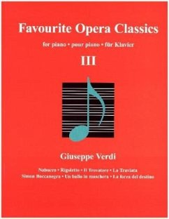 9783741914645 - Favourite Opera Classics, für Klavier - Buch