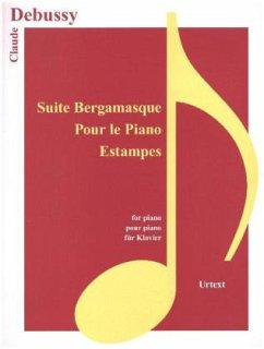 9783741914508 - Debussy, Claude: Suite Bergamasque, Pour le piano, Estampes, für Klavier - Buch