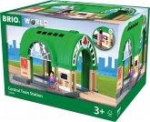 BRIO 33649 - Hauptbahnhof mit Ticketautomat, groß