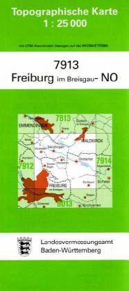 Freiburg Karte.Topographische Karte Baden Wurttemberg Freiburg Im Breisgau No