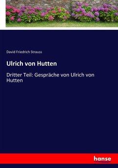 9783743655485 - David Friedrich Strauss: Ulrich von Hutten - Buch