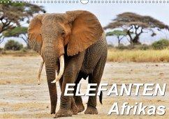 Elefanten Afrikas (Wandkalender 2018 DIN A3 quer) Dieser erfolgreiche Kalender wurde dieses Jahr mit gleichen Bildern und aktualisiertem Kalendarium wiederveröffentlicht.
