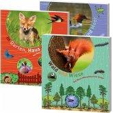 Natur-Mitmachbücher für Kinder Paket