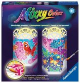 Ravensburger 294152 - Mixxy Colors - Windlichter - Bunte Schmetterlinge - Malen nach Zahlen, MNZ