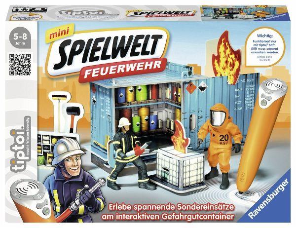 Ravensburger tiptoi® 007745 - mini Spielwelt Feuerwehr: Gefahrguteinsatz