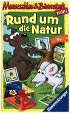 Ravensburger 234332 - Mauseschlau & Bärenstark - Rund um die Natur - Mitbringspiel