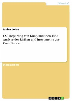 CSR-Reporting von Kooperationen. Eine Analyse der Risiken und Instrumente zur Compliance