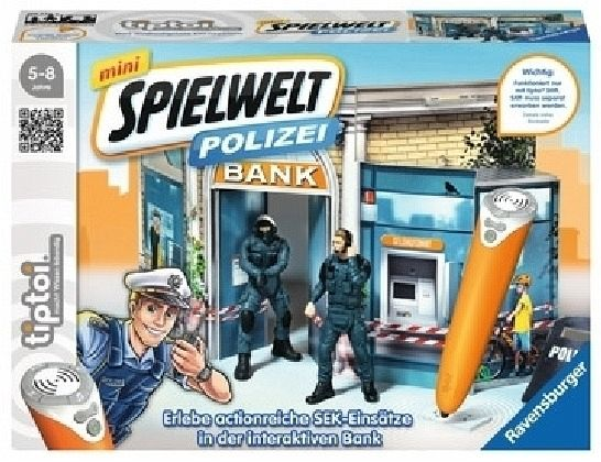Ravensburger tiptoi® 007752 - mini Spielwelt Polizei: SEK-Einsatz
