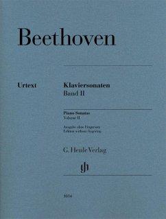 Klaviersonaten 2 br. - Urtext - Beethoven, Ludwig van - Klaviersonaten, Band II