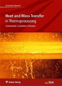 Heat and Mass Transfer in Thermoprocessing - Specht, Eckehard