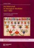 Die Ritterschaft im Herzogtum Westfalen 1651-1803